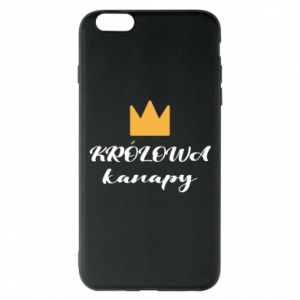 Phone case for iPhone 6 Plus/6S Plus The queen of the couch - PrintSalon