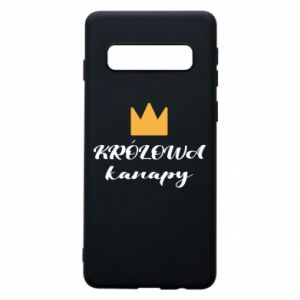 Phone case for Samsung S10 The queen of the couch - PrintSalon