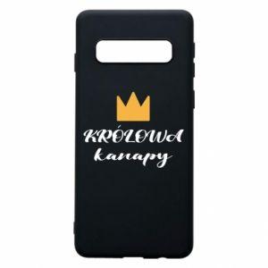 Etui na Samsung S10 Królowa kanapy