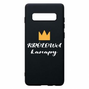 Phone case for Samsung S10+ The queen of the couch - PrintSalon