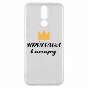 Phone case for Huawei Mate 10 Lite The queen of the couch - PrintSalon