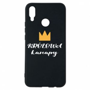 Phone case for Huawei P Smart Plus The queen of the couch - PrintSalon