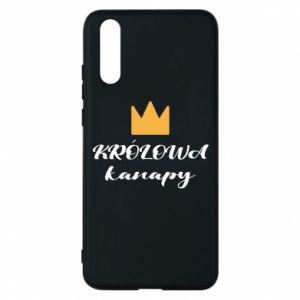 Phone case for Huawei P20 The queen of the couch - PrintSalon