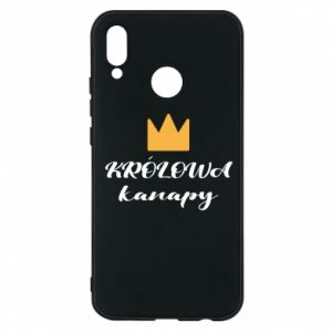 Phone case for Huawei P20 Lite The queen of the couch - PrintSalon