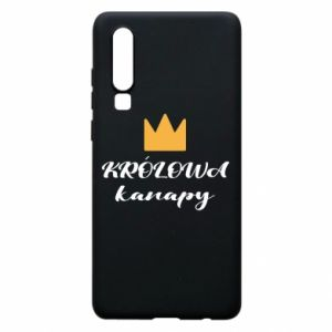 Phone case for Huawei P30 The queen of the couch - PrintSalon