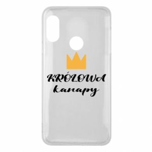 Phone case for Mi A2 Lite The queen of the couch - PrintSalon