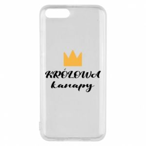 Phone case for Xiaomi Mi6 The queen of the couch - PrintSalon