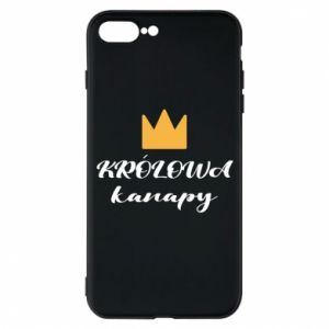 Phone case for iPhone 7 Plus The queen of the couch - PrintSalon