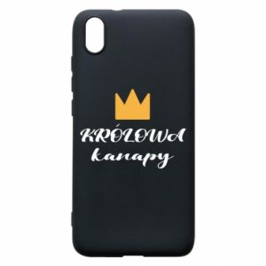 Phone case for Xiaomi Redmi 7A The queen of the couch - PrintSalon