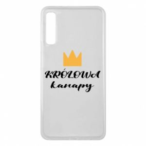Phone case for Samsung A7 2018 The queen of the couch - PrintSalon