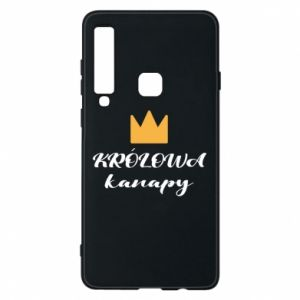 Phone case for Samsung A9 2018 The queen of the couch - PrintSalon