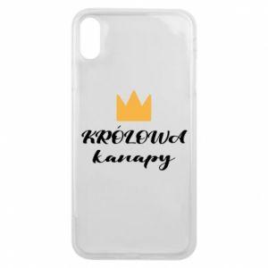 Etui na iPhone Xs Max Królowa kanapy