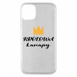 Etui na iPhone 11 Pro Królowa kanapy