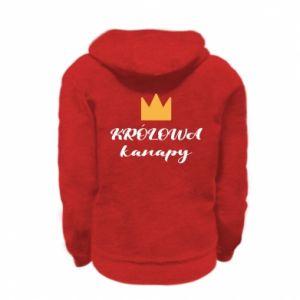 Bluza na zamek dziecięca Królowa kanapy