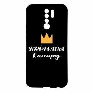 Etui na Xiaomi Redmi 9 Królowa kanapy