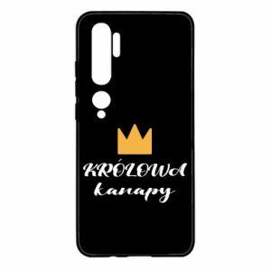 Etui na Xiaomi Mi Note 10 Królowa kanapy