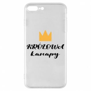 Phone case for iPhone 8 Plus The queen of the couch - PrintSalon