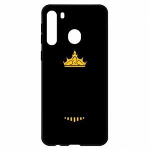 Etui na Samsung A21 Królowa MAMA