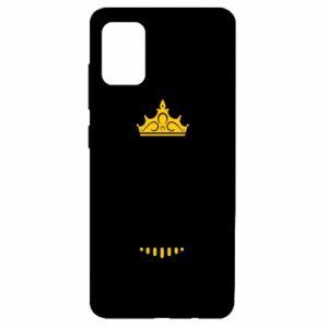 Etui na Samsung A51 Królowa MAMA