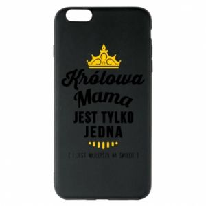 Etui na iPhone 6 Plus/6S Plus Królowa MAMA