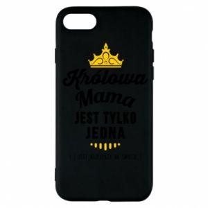 Etui na iPhone 7 Królowa MAMA