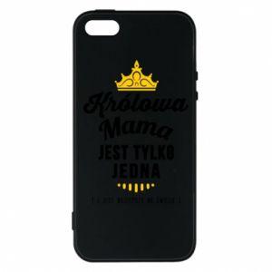 Etui na iPhone 5/5S/SE Królowa MAMA