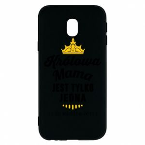Samsung J3 2017 Case The Queen mother