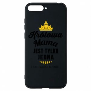 Huawei Y6 2018 Case The Queen mother