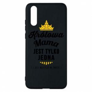 Etui na Huawei P20 Królowa MAMA