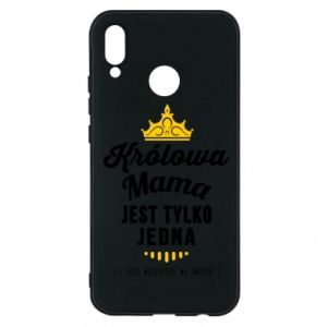 Huawei P20 Lite Case The Queen mother
