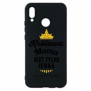 Etui na Huawei P20 Lite Królowa MAMA