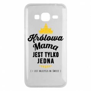 Samsung J3 2016 Case The Queen mother