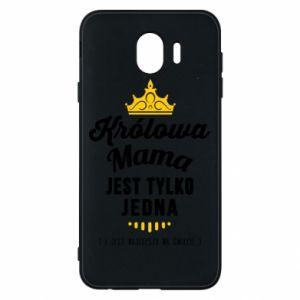 Etui na Samsung J4 Królowa MAMA