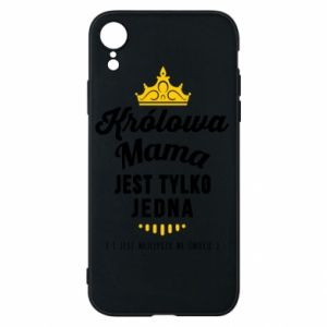 iPhone XR Case The Queen mother
