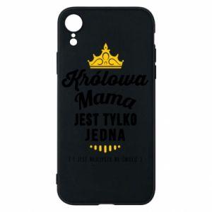 Etui na iPhone XR Królowa MAMA