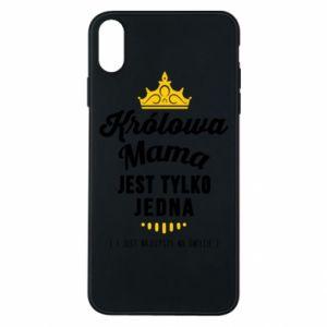 Etui na iPhone Xs Max Królowa MAMA