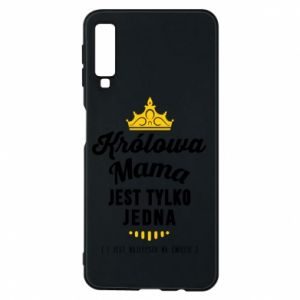 Samsung A7 2018 Case The Queen mother
