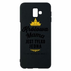 Samsung J6 Plus 2018 Case The Queen mother