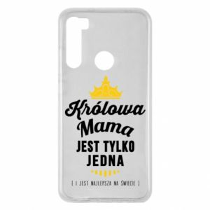 Etui na Xiaomi Redmi Note 8 Królowa MAMA