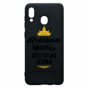 Samsung A30 Case The Queen mother