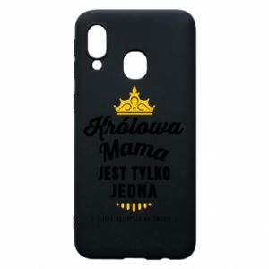 Samsung A40 Case The Queen mother
