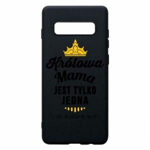 Etui na Samsung S10+ Królowa MAMA