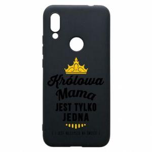 Etui na Xiaomi Redmi 7 Królowa MAMA
