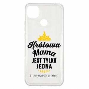 Etui na Xiaomi Redmi 9c Królowa MAMA