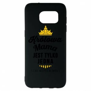 Samsung S7 EDGE Case The Queen mother