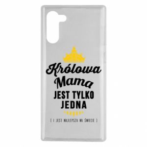 Samsung Note 10 Case The Queen mother