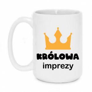 Mug 450ml Queen of the party - PrintSalon