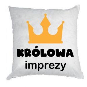 Pillow Queen of the party - PrintSalon