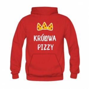 Kid's hoodie Pizza queen