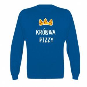 Kid's sweatshirt Pizza queen